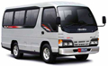 rental bus bali isuzu elf